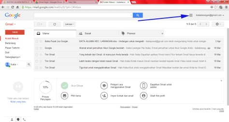 Kotak Masuk Gmail